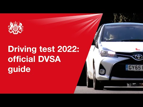 Driving test 2021: official DVSA guide