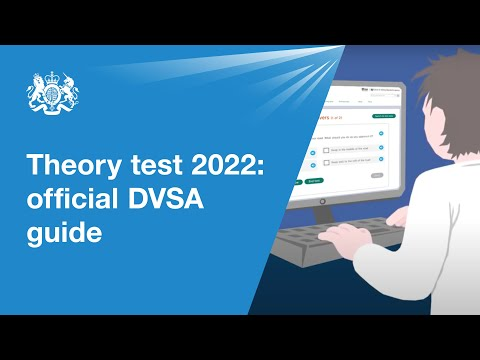 Theory test 2021: official DVSA guide