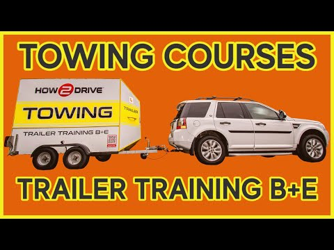Trailer Training Course Norwich - B+E Towing Test