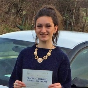 Norwich Driving Lesson pupil Molly Rowe