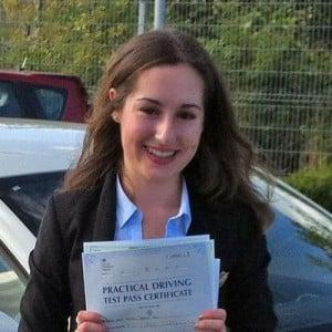 Norwich Driving Lesson Pupil Yasmin Ali