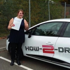 Great Yarmouth driving student, Amy