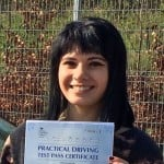 Norwich learner driver, Amira Musrati