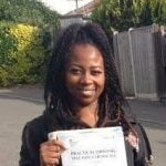 Shennice Frances, who reviewed our driving school after passing her test.