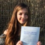 Norwich driving lessons pupil, Emily.
