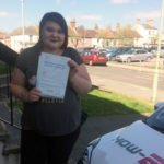 Savannah, who took driving lessons in Great Yarmouth.