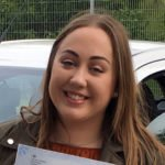 Charlotte, who took driving lessons in Lowestoft