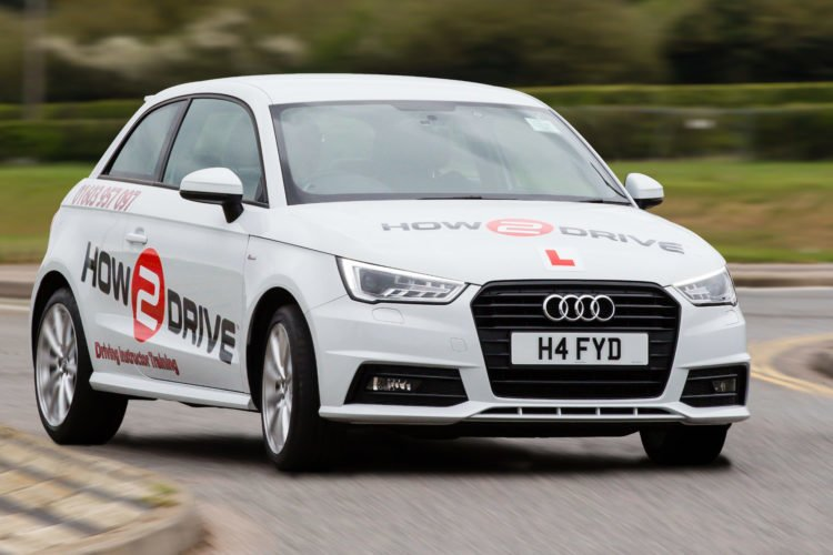Audi A1 -- take refresher driving lessons with How-2-Drive.