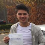Danny, who passed with our Norwich School of Motoring.