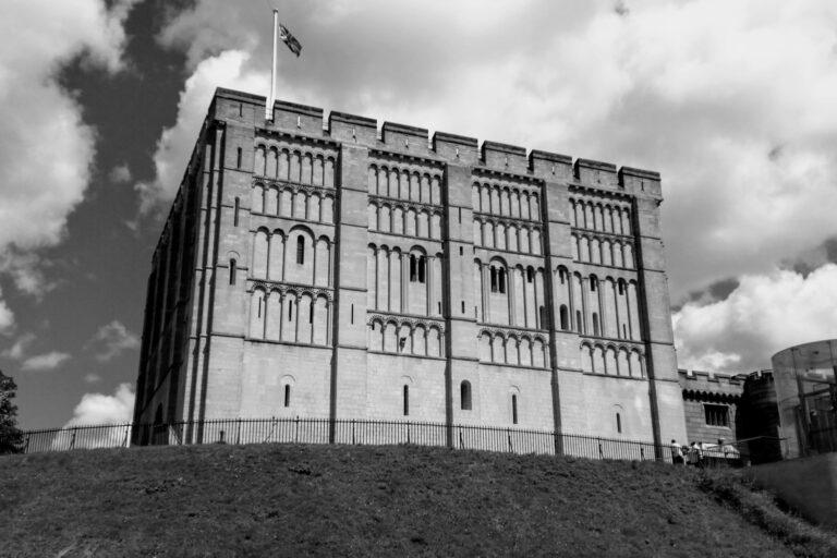 Norwich Castle Museum, which has a popular city centre car park underneath it.