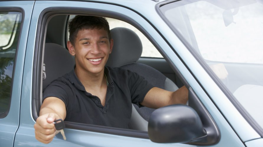By avoiding the most common driving test faults this happy chap has managed to pass his driving test!