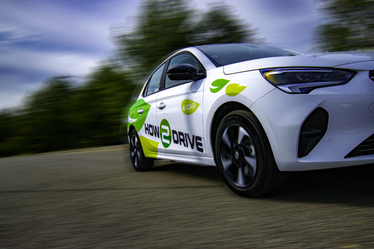 Our new Vauxhall Corsa-e. Now is the perfect time to take electric car driving lessons in the Norwich area.