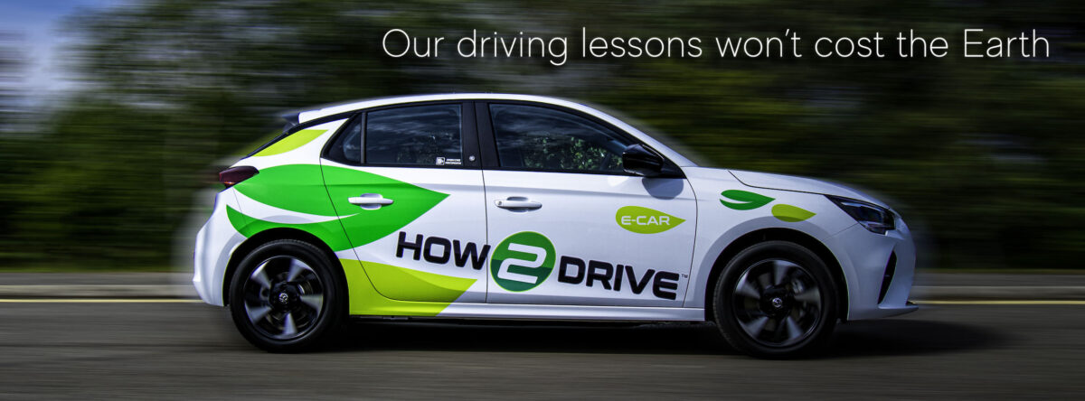 If you learn to drive in Blair's new Vauxhall Corsa-e our driving lessons won't cost the Earth!